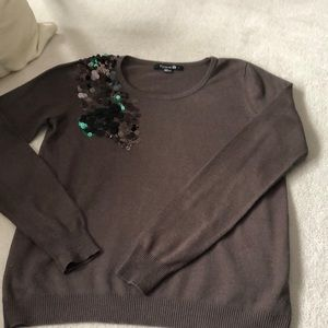 Sequin forever 21 sweater!